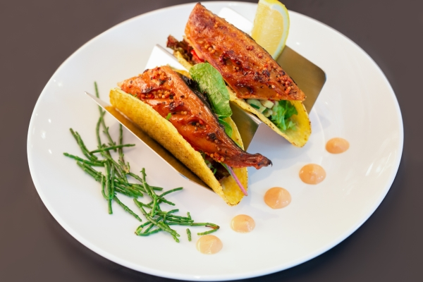 Mr Crab Taco